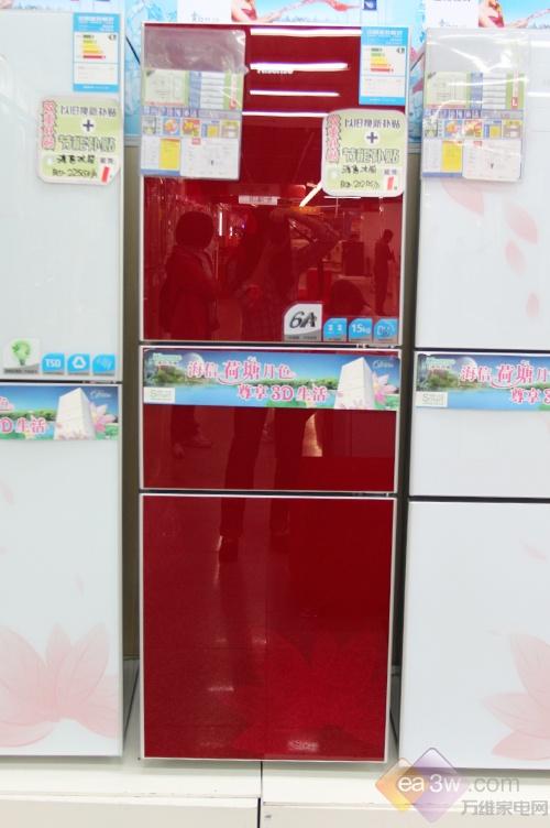 "3D超节能 海信冰箱酒红诱惑抢""鲜"""