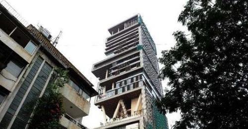 印度首富炫耀世界最贵豪宅 造价超10亿美元