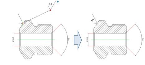 浩辰CAD教程之粗糙度符号快速对齐插入cad衣柜底图片