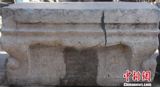 """山西太原发现""""道光供桌"""" 考古所已妥善保存"""