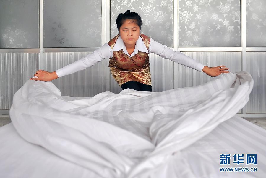 陕西神木:经济发展促进酒店服务行业培训升温