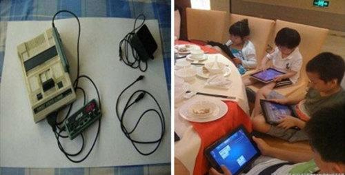 小霸王游戏机让许多70、80后无法忘怀,而现在的小孩都自娱自乐