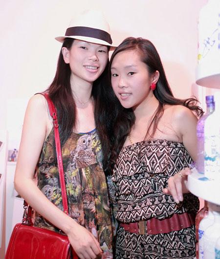 不一样的美丽 中国首席名模吕燕生活照