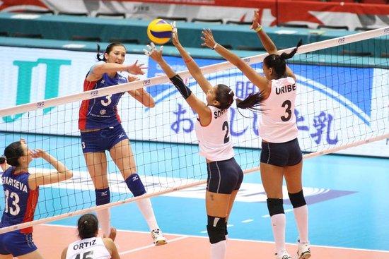 女排奥运落选赛-俄罗斯不败居首 日本1-3负韩国