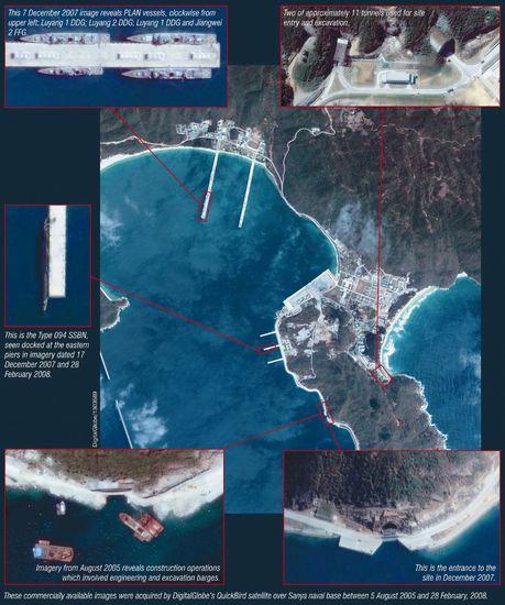 三亚军事基地_美国媒体称中国三亚海军基地深水通道难以监控