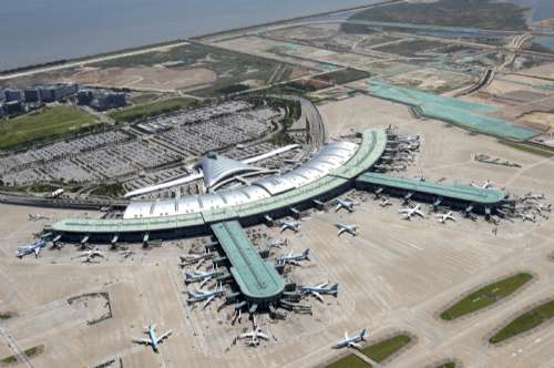 韩国仁川机场全景资料图