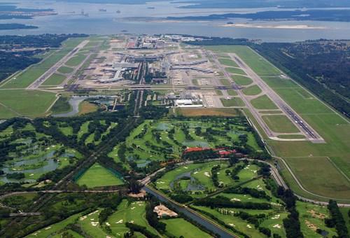 新加坡樟宜机场全景图资料图