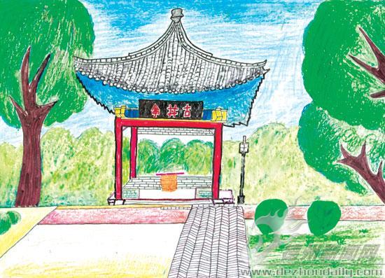 德州市迎六一小组图书画作品选登(集团)学生小学教育总校北海图片