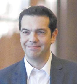 希腊激进左翼联盟领袖齐普拉斯(资料图)