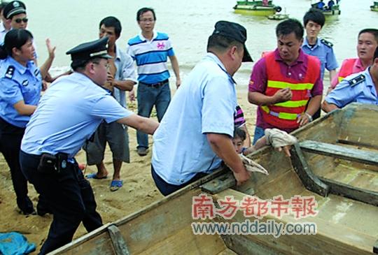 清理海滩扣船 引部分渔民不满
