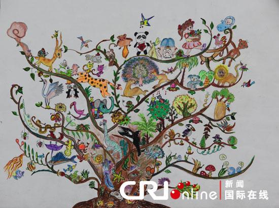 《地球妈妈的全家福生命树》李禅7岁图片