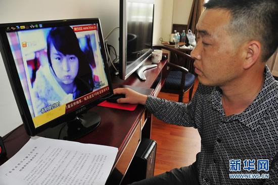 被告人敖翔在接受记者的采访.新华社记者梁志玮摄