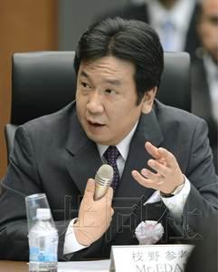 5月27日,福岛核事故发生时担任官房长官的经济产业相枝野幸男接受了国会事故调查委员会的传唤。