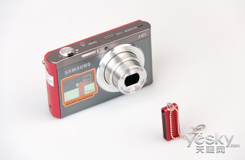 自拍达人看这里! 三星DV300F相机深度评测