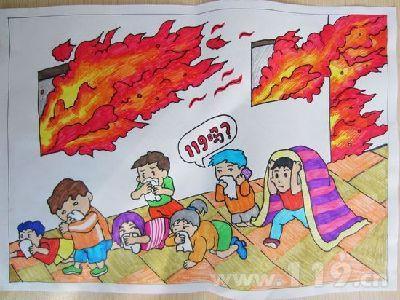 画漫画学消防 中山举办消防安全漫画创作大赛(组图)