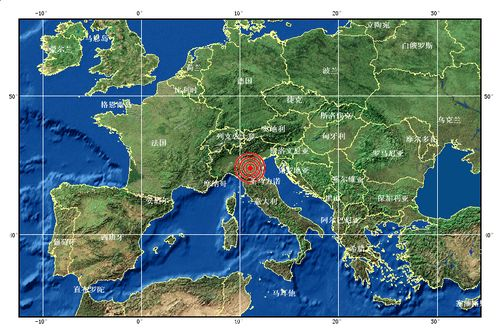 中国地震台网测定意大利发生6.0级地震(图)