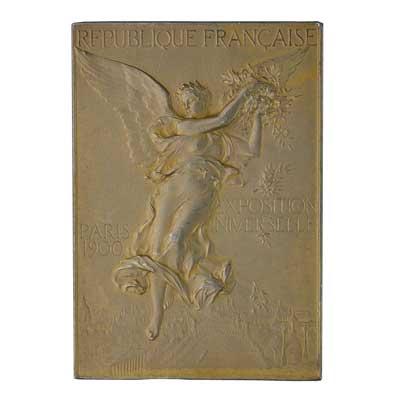 1900年巴黎夏季奥运会奖牌正面