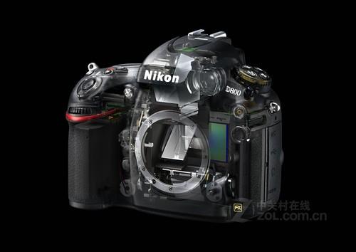 商业摄影师新选择 尼康D800单机25600元