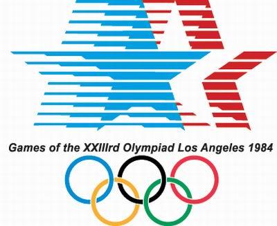 1984年洛杉矶第23届奥运会会徽