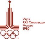 1980年莫斯科第22届奥运会会徽