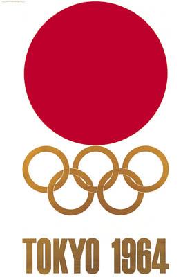1964年东京第18届奥运会会徽