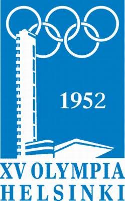 1952年赫尔辛基第15届奥运会会徽