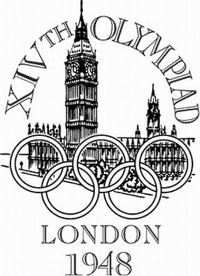 1948年伦敦第14届奥运会会徽