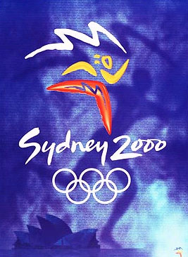 2000年第27届悉尼奥运会海报