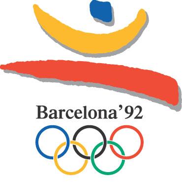 1992年第25届巴塞罗那奥运会海报