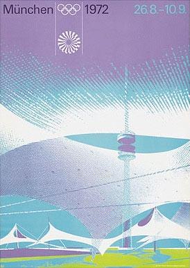 1972年第20届慕尼黑奥运会海报