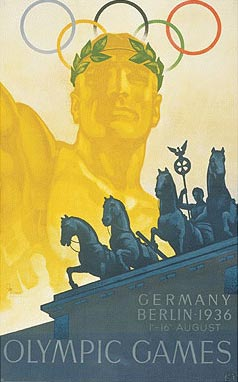 1936年第11届柏林奥运会海报