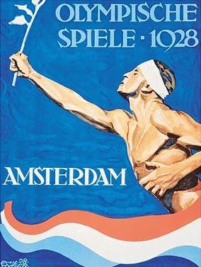 1928年第9届阿姆斯特丹奥运会海报