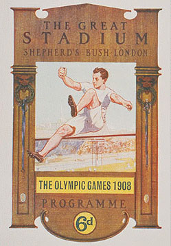 1908年第四届伦敦奥运会海报