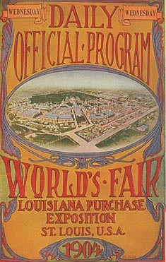 1904年第三届圣路易斯奥运会海报