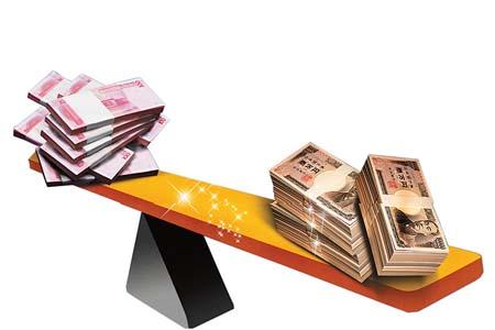 人民币直兑日元6月开闸(图)