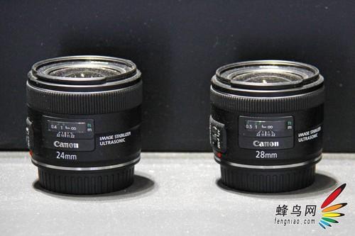P&E2012:较低调 佳能展示三款新型镜头