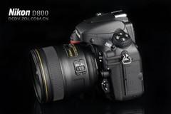 3600万像素51点对焦 尼康D800售26800元