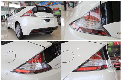 绿色激情 实拍本田混合动力跑车CR Z高清图片