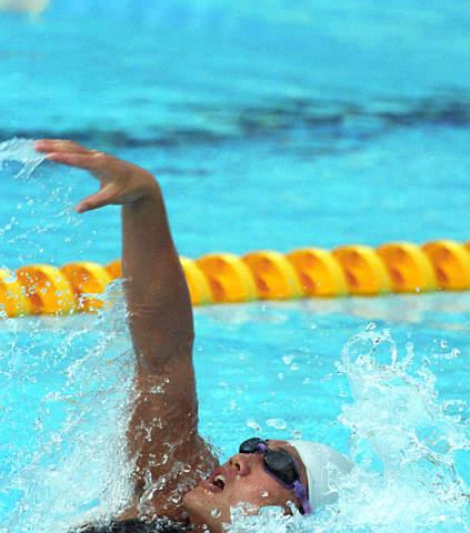 林莉打破女子200米个人混合泳世界纪录