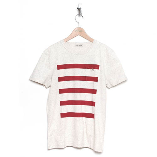 Oliver Spencer Brittany Tee Cream Red HK$850