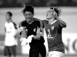 亚冠联赛・1/8决赛 广州恒大1∶0东京FC 在一场定胜负的16强赛中,恒大依靠外援克莱奥的进球晋级8强赛。