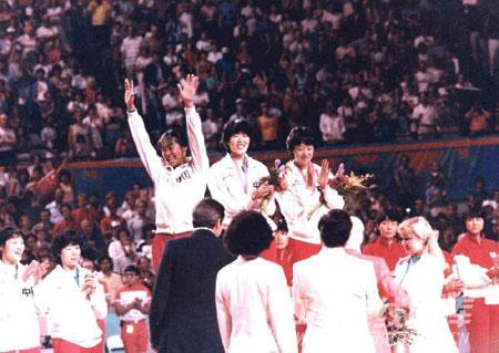 女排奥运摘金