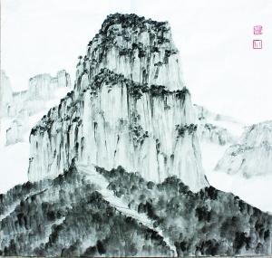 刘川川:山水有知音 - 中国书画周刊 - 北京商报; 刘川川:山水有知音图片