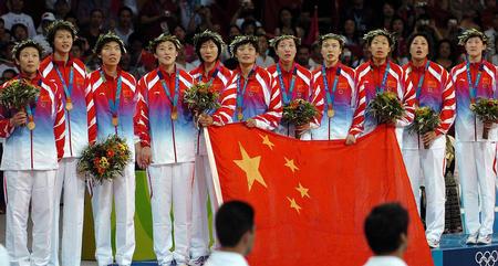 中国女排夺冠