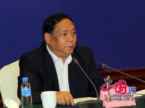 贵州省人民政府副省长禄智明介绍情况 中国网 张琳