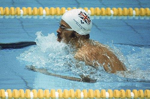 图文:1976蒙特利尔奥运会 200米蛙泳威尔基