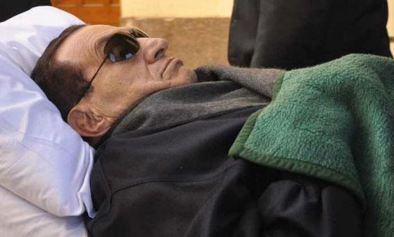 穆巴拉克已经抵达现场
