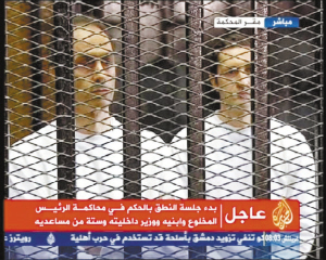 穆巴拉克的两个儿子参加庭审