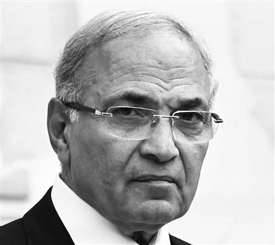 前总理、总统候选人沙菲克。