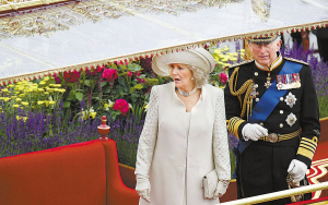 查尔斯王储夫妇出席庆典